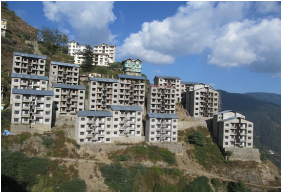 'Asiana II, a Housing Scheme for the poor of Shimla Town'