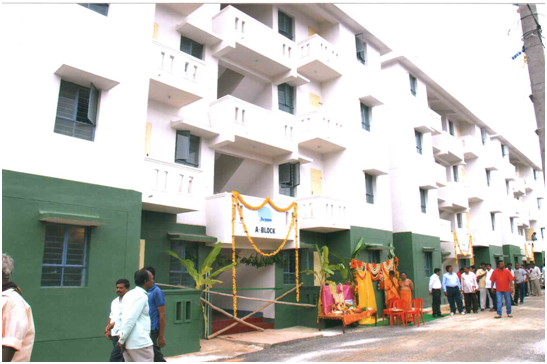 BSUP scheme for Basic services of Urban Poor covering 16 slum areas in Bengaluru (Phase-II)