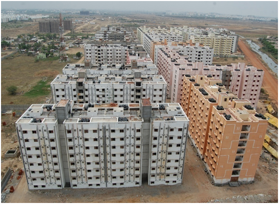 Construction of 10,452 Tenements and Infrastructure facilities (Phase-I)