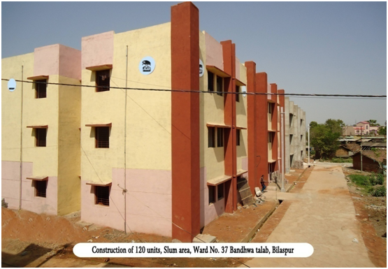 IHSDP Scheme for the town of Bilaspur (Phase-I)